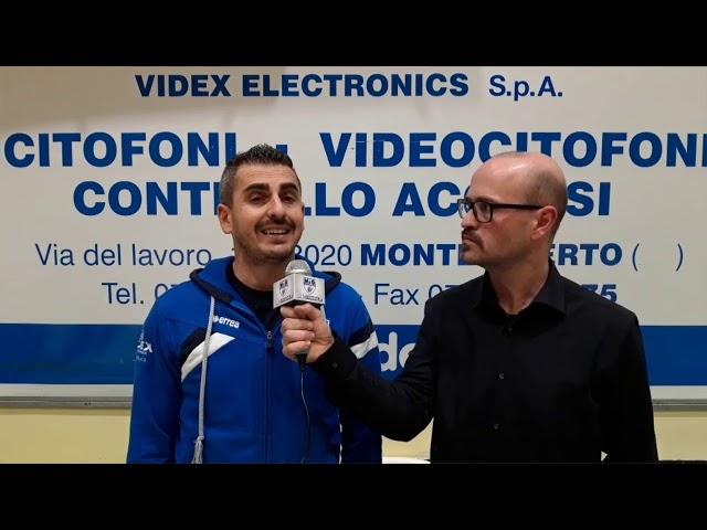 M&G Videx VS BAM Acqua S. Bernardo Cuneo: l'intervista al coach
