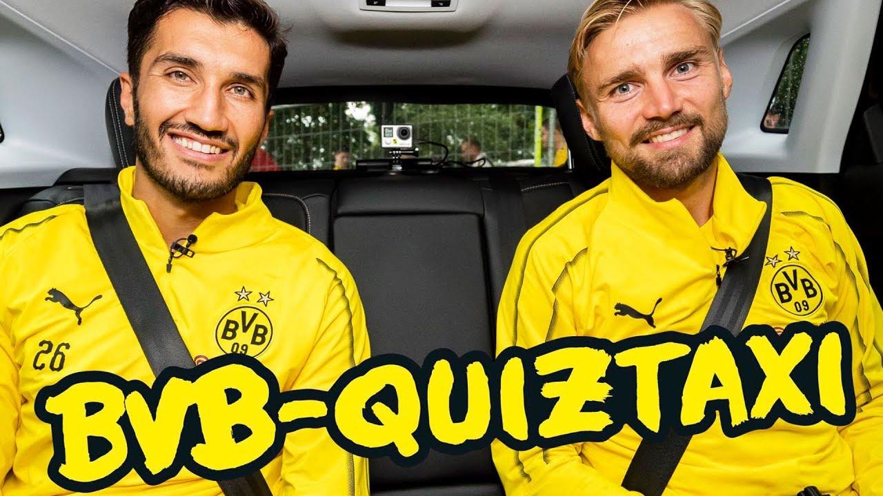 BVB-Quiztaxi in Bad Ragaz 2018   Teil 3 mit Reus/Götze, Schmelzer/Sahin & Pulisic/Delaney