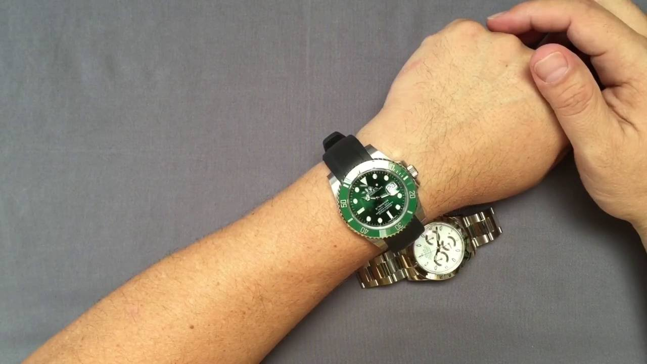 Everest Rubber Strap for Rolex ,my impressions,
