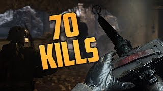 70 KILLS IN DOM! (Call of Duty WW2 - PC Gameplay)