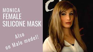Female Silicone Mask - Maschera in Silicone Femminile - CREA FX