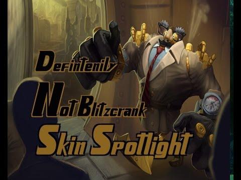 Definitely Not Blitzcrank Skin Spotlight - League of ...