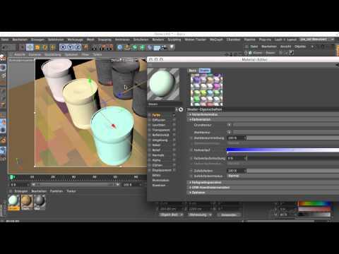 MAXON CINEMA 4D R17 - 03 01 Variation-Shader