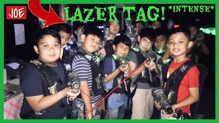 Lazer Tag Game with my Friends! {INSANE}/joevlog #10 thumbnail