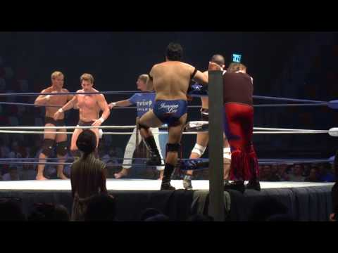 Kevin Ross and Marshall Von Erich VS Jumping lee Rabi swissa and Marty Jannetty / w Doron Degani