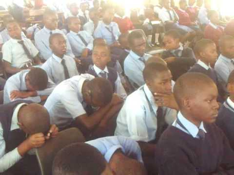 OLLY MOONGA   MAJOR CAUSES OF FAILURE  SPEAKING AT CHIKANKATA SECONDARY SCHOOL