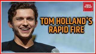 Tom Holland Exclusive Interview On India Today, Answers Rapid Fire Questions