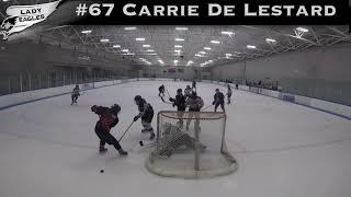 2018-2019 #67 Carrie De Lestard GY 2019 Carolina Lady Eagle Highlights