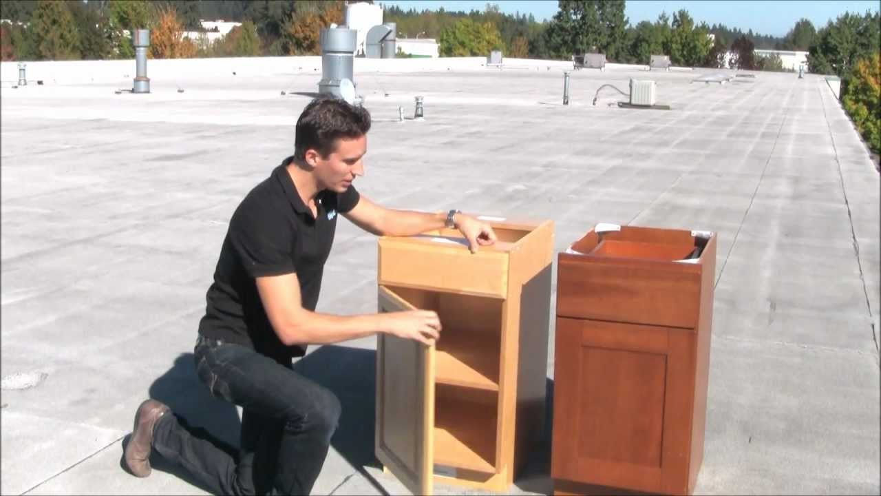 Attrayant Letu0027s Throw Some Cabinets Off The Top Of A Building!   YouTube