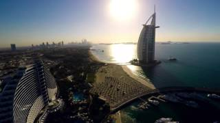 Burj Al Arab 4K in Drone Eye View in 15Sec