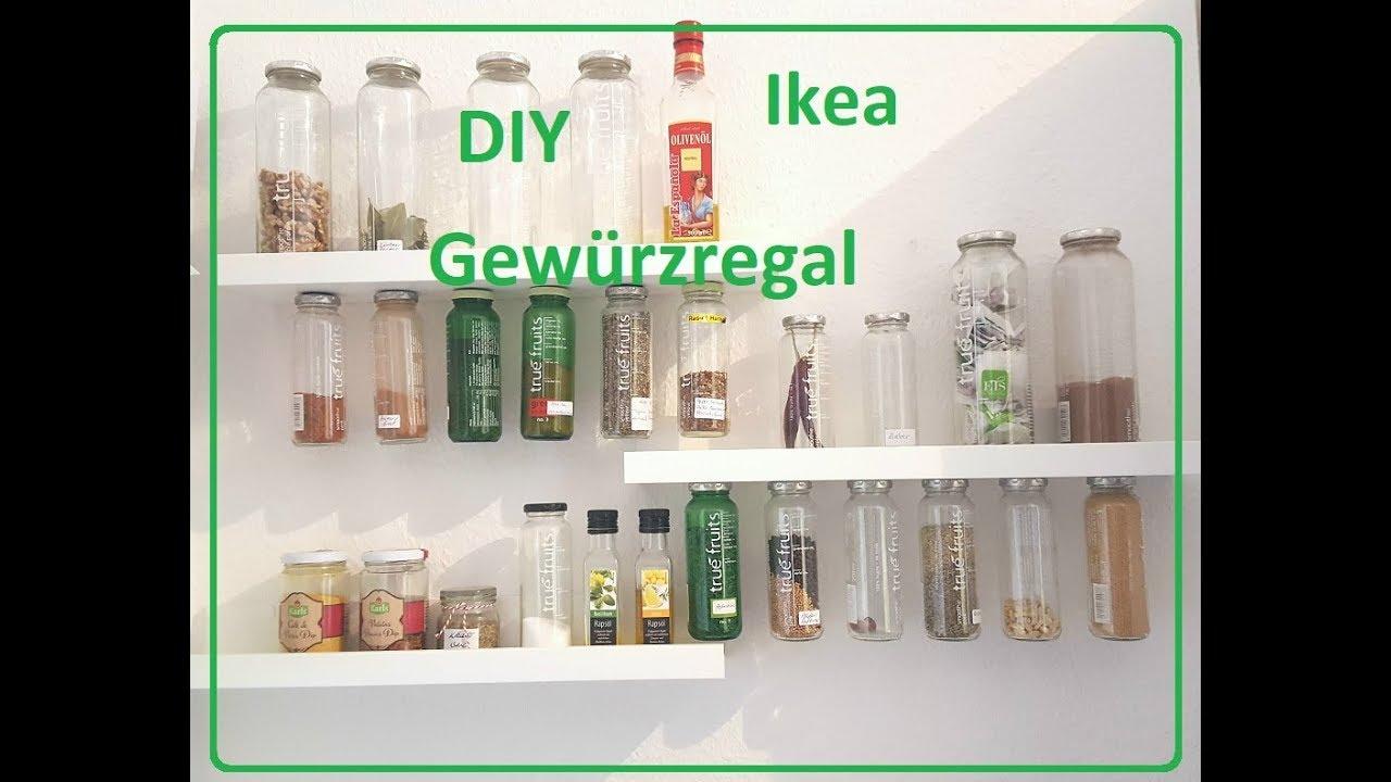 Gewurzregal Selber Machen Ikea Regal Youtube