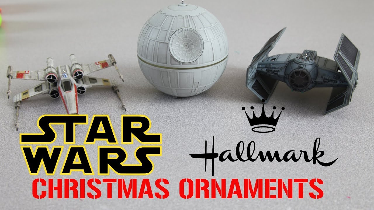 star wars christmas ornaments put on a show 2017 hallmark jedi master collection