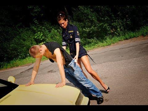 Секс с полицейским на дороги видео