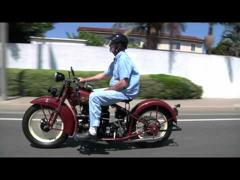 1929 Henderson KJ 1938 Indian Four Motorcycles