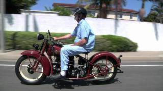 1929 Henderson KJ 1938 Indian Four Motorcycles