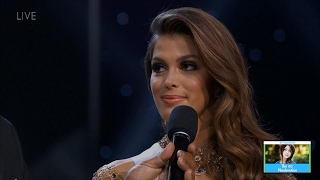 Miss Universe Questions & Answers   LIVE 1-29-17