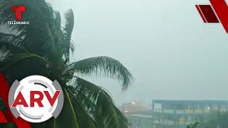 Imagen del huracán Nana muestra algo que sorprende a muchos | Al Rojo Vivo | Telemundo