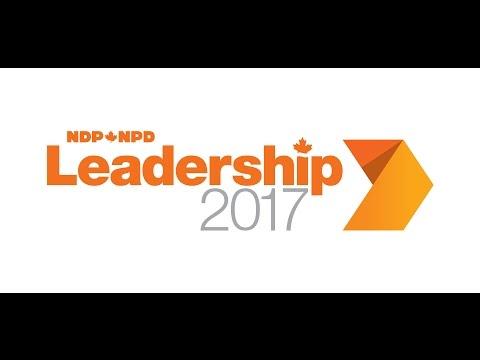 NDP Leadership 2017 Debate - Ottawa // Débat de la course au leadership du NPD - Ottawa