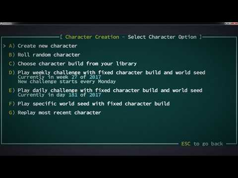 Your first Qud Character