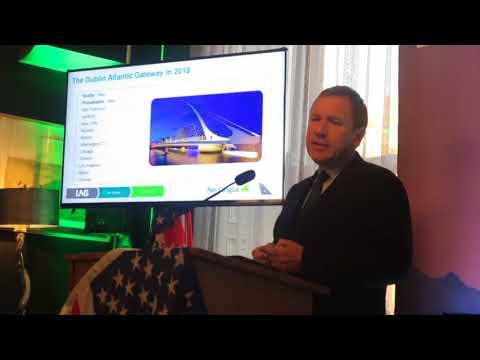 Stephen Kavanagh announces new Aer Lingus Dublin Seattle route