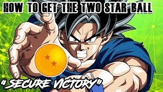 "THE 2 STAR DRAGON BALL IS LIVE! ""SECURE VICTORY"" 