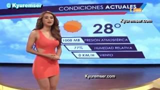 This one is dedicated to all the Mexican weather girls out there th...