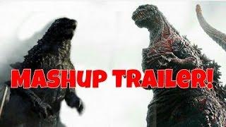 Shin Godzilla (2016) - Official Trailer W/ Godzilla (2014) Footage