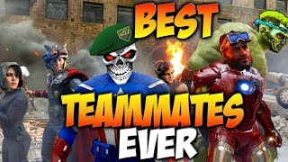 Black Ops 4 Best Team Mates Ever! COD BO4 SBMM FAIL!