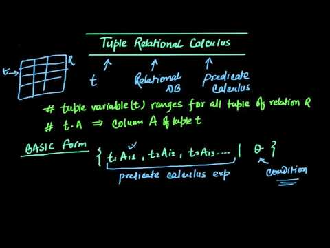 Introduction to Tuple Relational Calculus