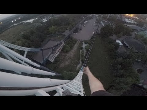 CLIMBING STEALTH AT THORPE PARK