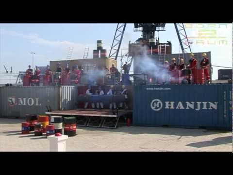 Born 2 Drum, Official Release Video, Opening Barge Terminal Born