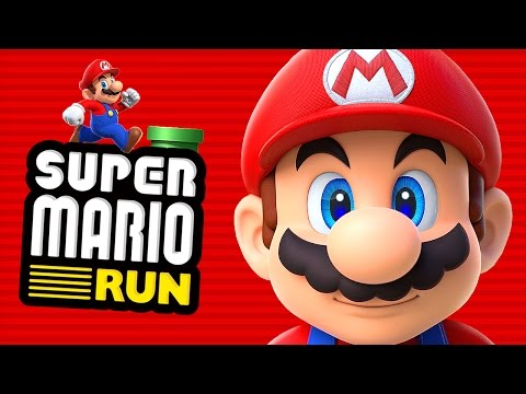SUPER MARIO RUN - Первый Взгляд!
