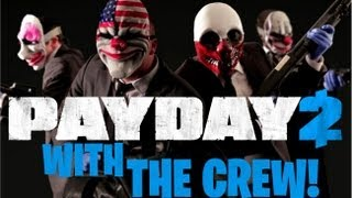 Payday 2 Jahova Speedy & Sidearms ALMOST Rob A Bank!