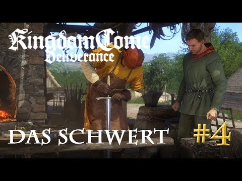 Let's Play Kingdom Come Deliverance #4: Das Schwert  (Tag 1 / Blind / deutsch)