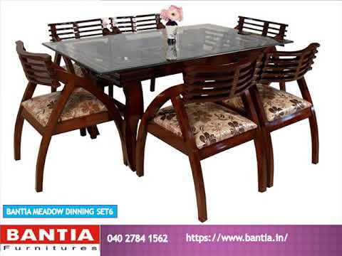 Bantia Dining Table Furniture  Buy Online In Bangalore.