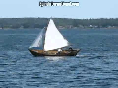 Grand Banks Dories Sail Just Fine - YouTube