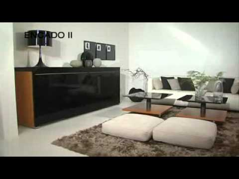 furniture review encado ii contemporary wooden sideboard by h lsta youtube. Black Bedroom Furniture Sets. Home Design Ideas