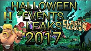 Clash of clans halloween 2017 events leaks | clash of clans halloween events 2017