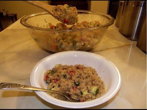 Zesty Lime Quinoa Dish