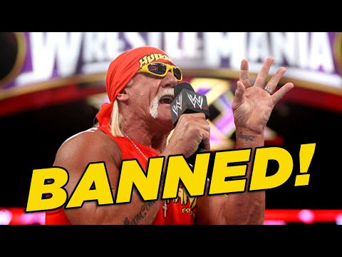 Hulk Hogan Banned From AEW!