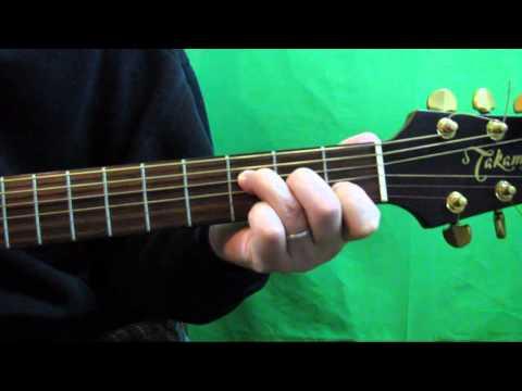 How To Play The F Major 7 Guitar Chord - Fmaj7 Chord Guitar Tutorial
