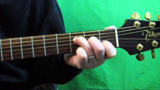 How To Play The F Major 7 Guitar Chord - Fmaj7 Chord Guitar Tutorial