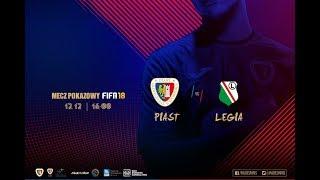 Mecz pokazowy FIFA 18: Piast Gliwice - Legia Warszawa | Aftermovie