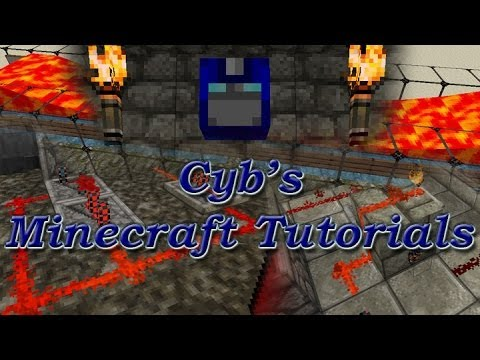 Cyb Minecraft Tutorial: Mod Spotlight - Extra Utilities/Ender Storage/Iron Chests PART 1
