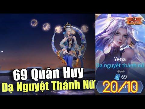 Siêu hot mở bán Yena Dạ nguyệt thánh nữ chỉ 69 quân huy (S+) từ ngày 20-10, Vẫn là tướng tủ Slimz