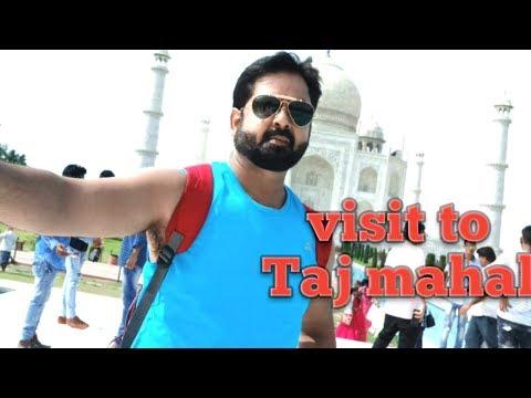 visit to tajmahal