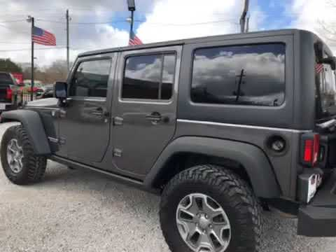 2014 Jeep Wrangler Used Car Loxley, AL Wholesale Solutions Inc.