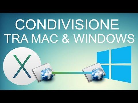 Condividere Cartelle in rete tra MAC OS X & Windows