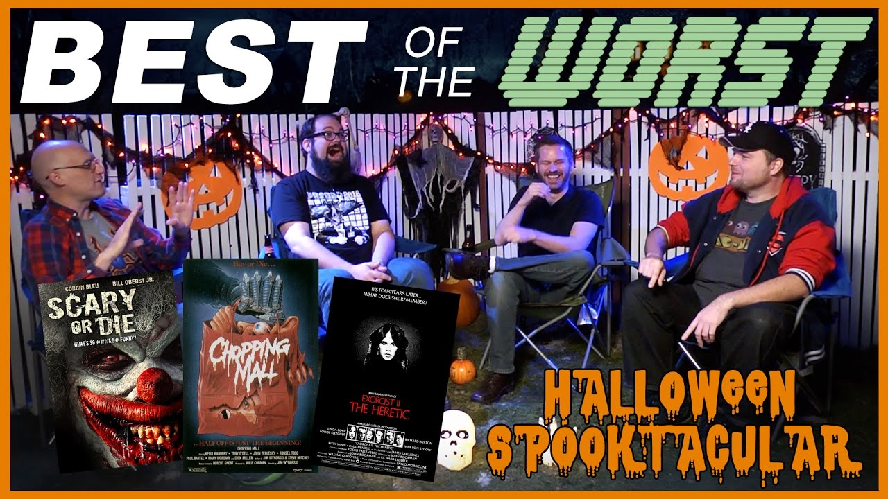 Download Best of the Worst: Scary or Die, Chopping Mall, Exorcist II: The Heretic