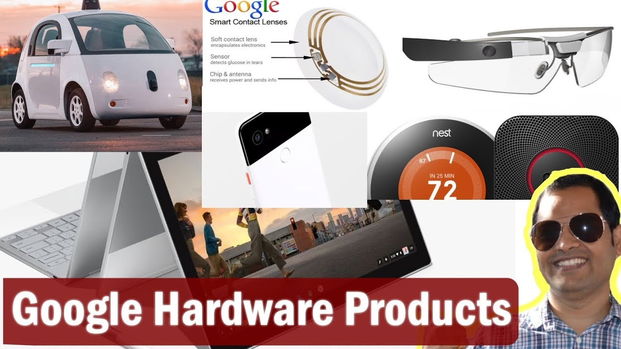 Google hardware products in Hindi | Pixel 2, Chromebook, contact lens,  Waymo, Daydream View